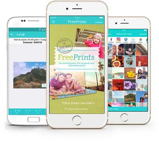10 FOTOS GRATIS CON FREEPRINTS