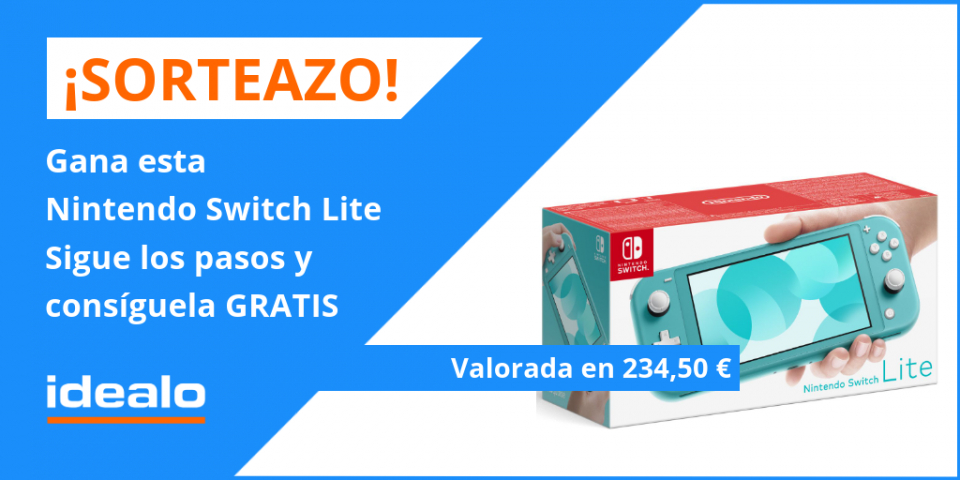 SORTEO NINTENDO SWITCH LITE