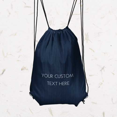 free drawstring backpack personalized